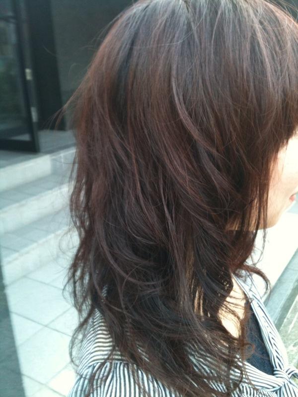 前髪、ミルキーピンク、ふわふわ(^ー^)